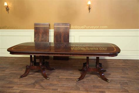 Large Dining Room Table Seats 16 Large And Wide Mahogany Dining Table Seats 14 16 Ebay
