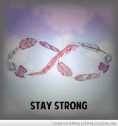 Stay Strong Infinity Stay Strong