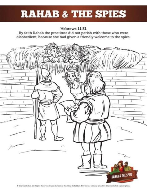 29 best bible kids rahab images on pinterest drawings