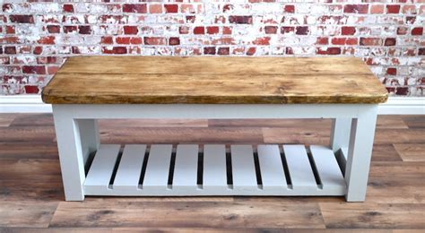 storage benches for halls rustic hall bench shoe storage bench made from reclaimed