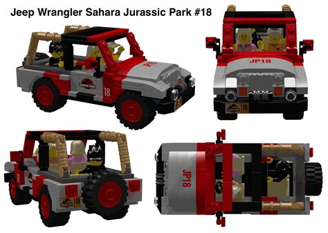 jurassic jeep lego lego ideas product ideas jurassic park