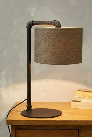 bedroom table lights buy pipe table lamp from the next uk online shop 10700 | 971 791s