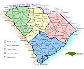 carolina counties map with cities sc counties select south carolina county by name sc