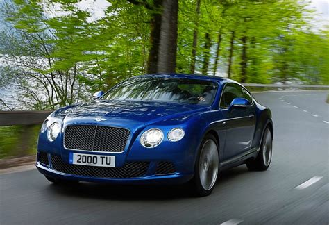 2012 bentley continental gt 2012 bentley continental gt speed unveiled fastest model