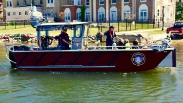 lake rescue boats madison fire department to dedicate new lake rescue boat