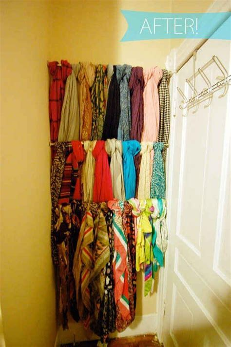 How To Hang Scarves On Curtain Rods by What Are Some Creative Diy Uses For Shower Curtain Rods