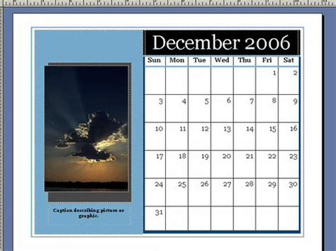how to create a calendar in microsoft publisher 4 steps