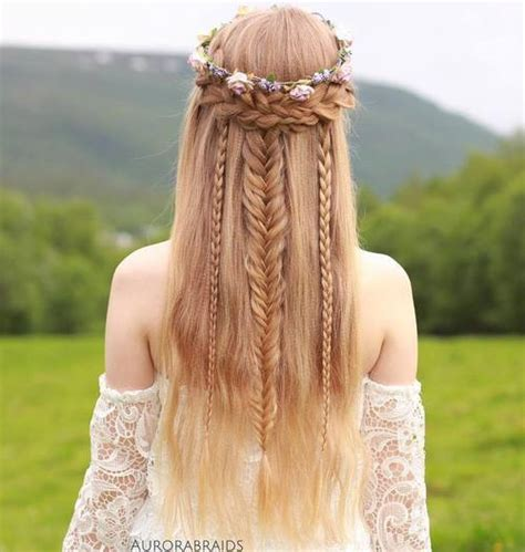 Best Boho Wedding Hairstyles by Boho Hairstyles 20 Coolest Bohemian Hair Options