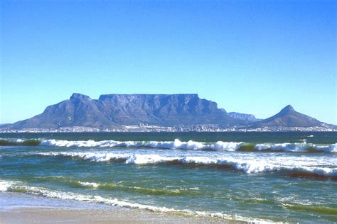 Table Mountain South Africa by World Places Cape Town City South Africa