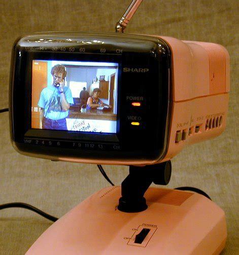 Sharp Model 3LS36 Miniature Color Television (1986)