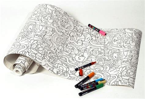 color your own wallpaper templates for years of creativity