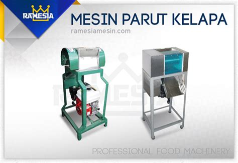 Mesin Parut Kelapa mesin parut kelapa alat pemarut kelapa ramesia mesin