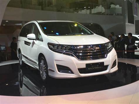 Cover Mobil Indoor Toyota Alphard honda elysion 2016 lebih berani tantang alphard mobil baru mobil123