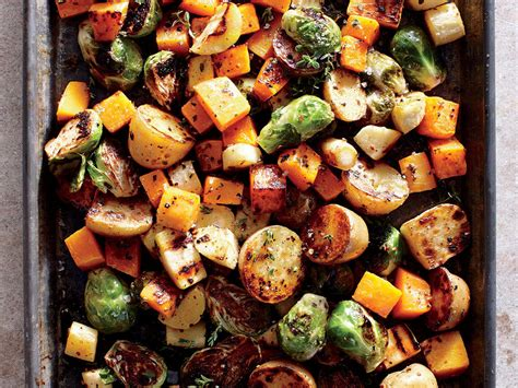 roasted vegetables clean during the holidays cooking light