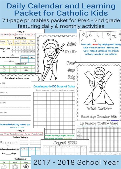 printable daily activity calendar 706 best images about catholic printables on pinterest