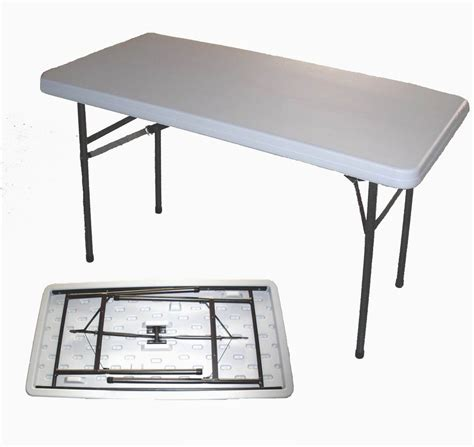 white plastic folding table plastic outdoor table and chair for practical furniture