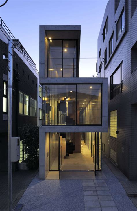 japan skinny house house in takadanobaba architizer