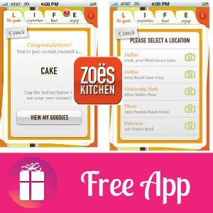 Zoes Kitchen Rewards by Zoes Kitchen App Besto