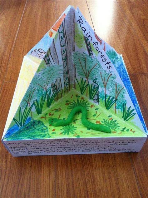 3d book report diorama school project