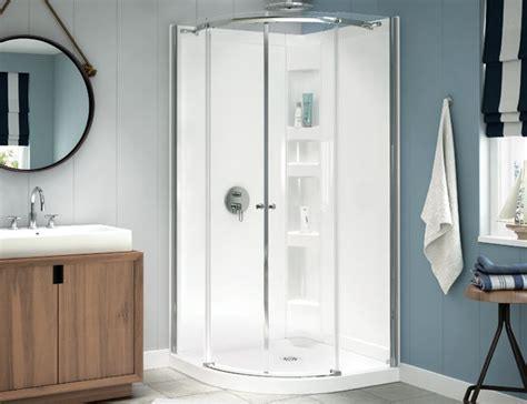 Maax Halo Shower Door 14 Best Images About Small Bath Corner Showers On One Shower Stall Corner