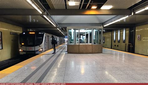 wilson transit toronto subway station database