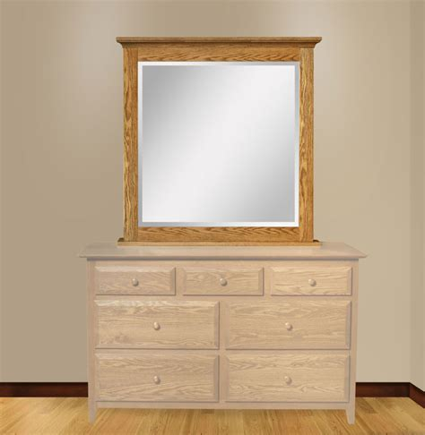 Dresser With Mirror by Dresser Mirror With Sliding Jewelry Wings Ohio Hardwood Furniture