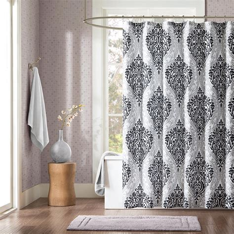 Luxury shower curtains for your master bath household tips