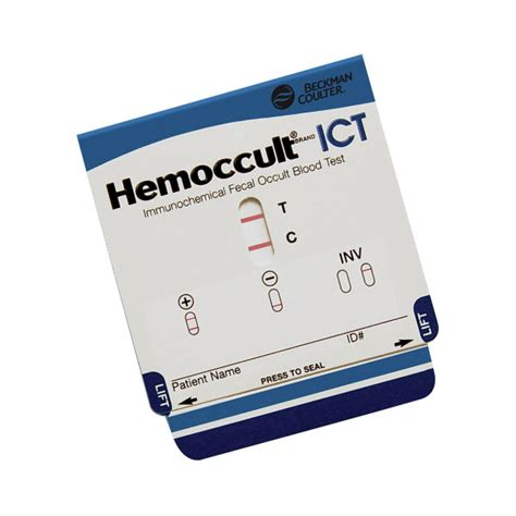 Hemoccult Positive Stools by Hemoccult 174 Ict Beckman Coulter Inc