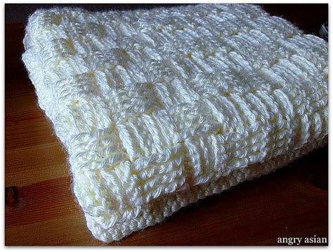 Crocheting A Blanket For Dummies by Basket Weave Crocheted Baby Blanket With Link To A Pattern