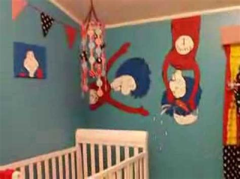 Bedroom Wall Decorating Ideas Dr Seuss Nursery Ideas The Lovely Creation Of The Kid S