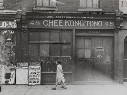 The Chinese Freemason Society building in Limehouse at