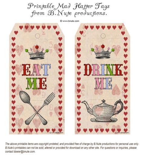 Alice In Wonderland Printable Decorations alice in wonderland party diy ideas amp free printables