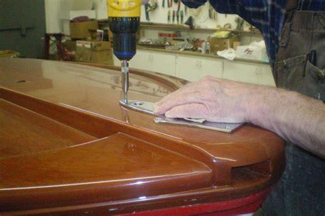 higgins boat restoration we carefully began the re installing of deck hardware