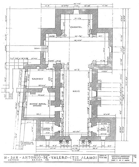 alamo floor plan 1836 best photos of diagram of the alamo mission alamo