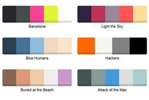 what is a color palette animated color palette plugin for jquery color swatches