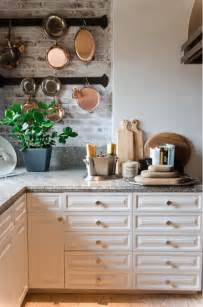 Types Of Backsplashes For Kitchen brick backsplashes rustic and full of charm