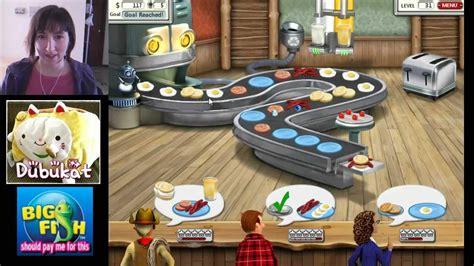 burger shop game 01 burger shop 2 game play big fish games youtube