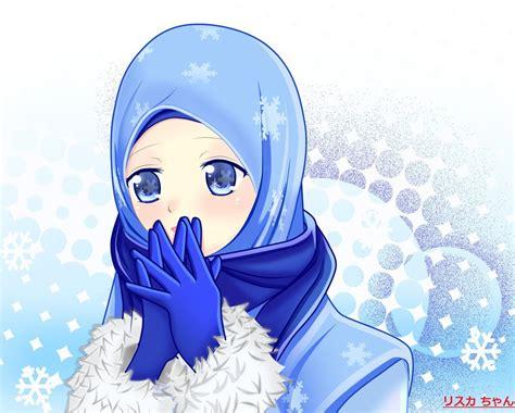 Baju Muslimah Kun gambar kartun muslimah cantik terbaru 2018 gambar kartun