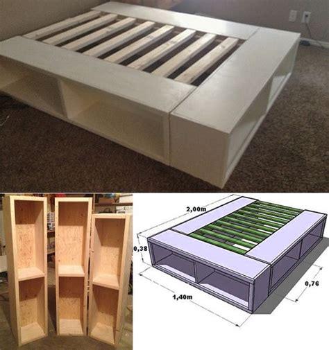 bett stauraum bett selber bauen f 252 r ein individuelles schlafzimmer