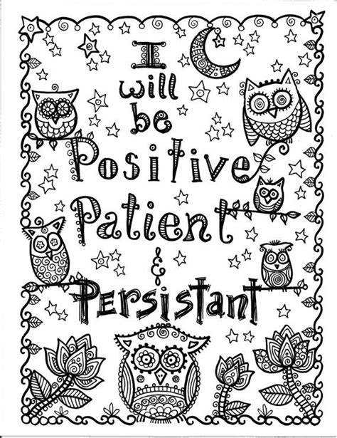 coloring pages motivational pin by angel reumann macdougall on inspirational coloring