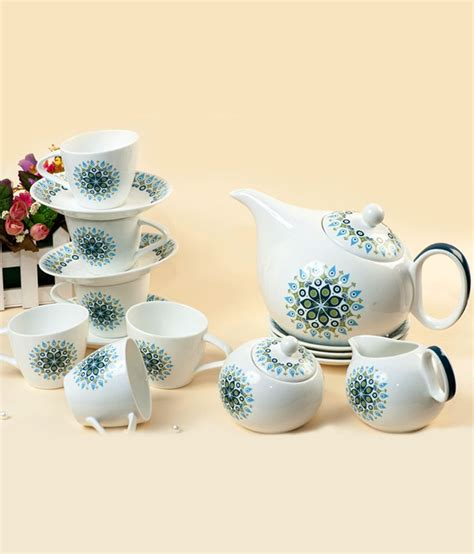 Sugar Milk And Pot 70 Ml clay craft tilted bone china cups 200 ml milk pot 225 ml sugar pot 225 ml kettle 1200 ml
