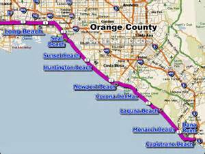 pch california map image gallery pch map