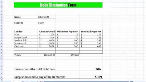 Debt Spreadsheet Template by Debt Payoff Spreadsheet Template Laobingkaisuo
