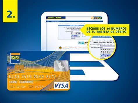 banco union uninet verifica tu saldo en cuenta usando la banco uni 243 n s a