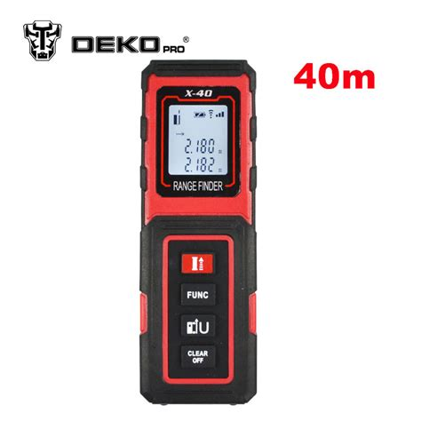 Meter Laser Digital dekopro x 40 40m mini digital laser distance meter