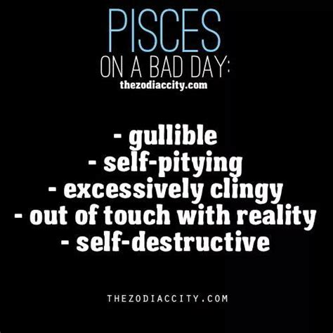 best 28 pisces and bad traits quotes about depression