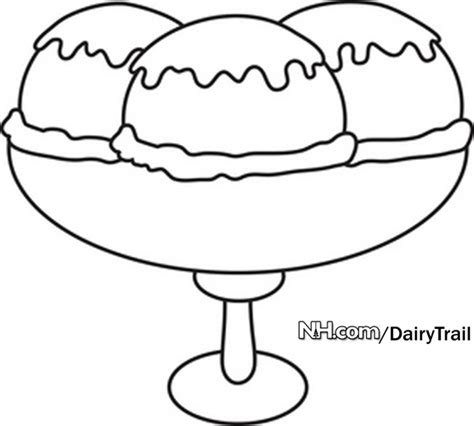 ice cream sundae coloring pages coloring pages