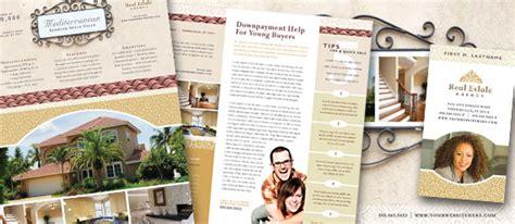 realtor real estate agency marketing materials