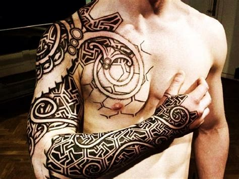 tattoo ideas chest and arm 15 creative tattoo designs for men you ll want to ink