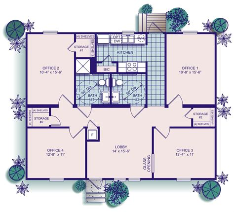 Large Floor Plans clh commercial office buildings temporary mobile offices